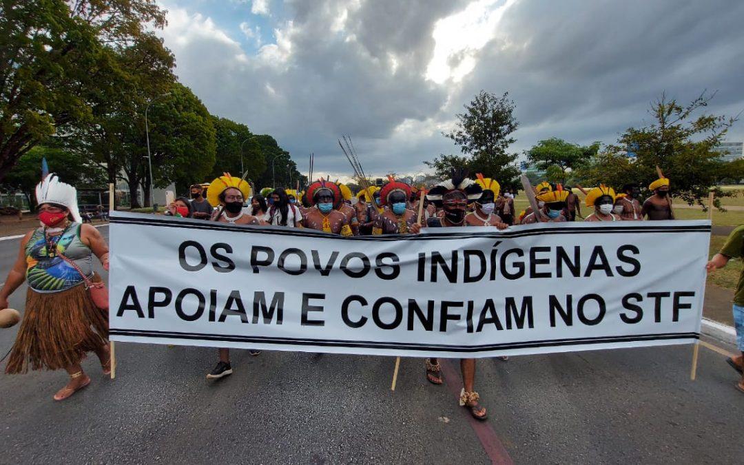 Com direitos em risco e demarcações paralisadas, povos indígenas pedem que STF julgue repercussão geral