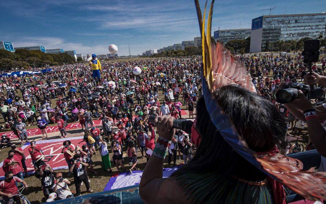 Povos Indígenas participam de movimento contra governo Bolsonaro neste sábado