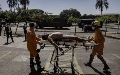 Sociedade Civil repudia violência contra indígenas em Brasília.