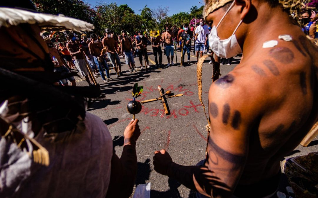 Members of the ruralist caucus and allies to President Bolsonaro approve bill that paves the way for a new indigenous genocide