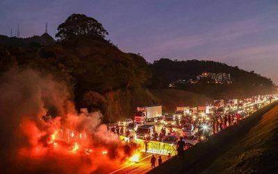 Protesto Guarani (SP) critica aprovação do PL 490 e nomeação de novo ministro do Meio Ambiente