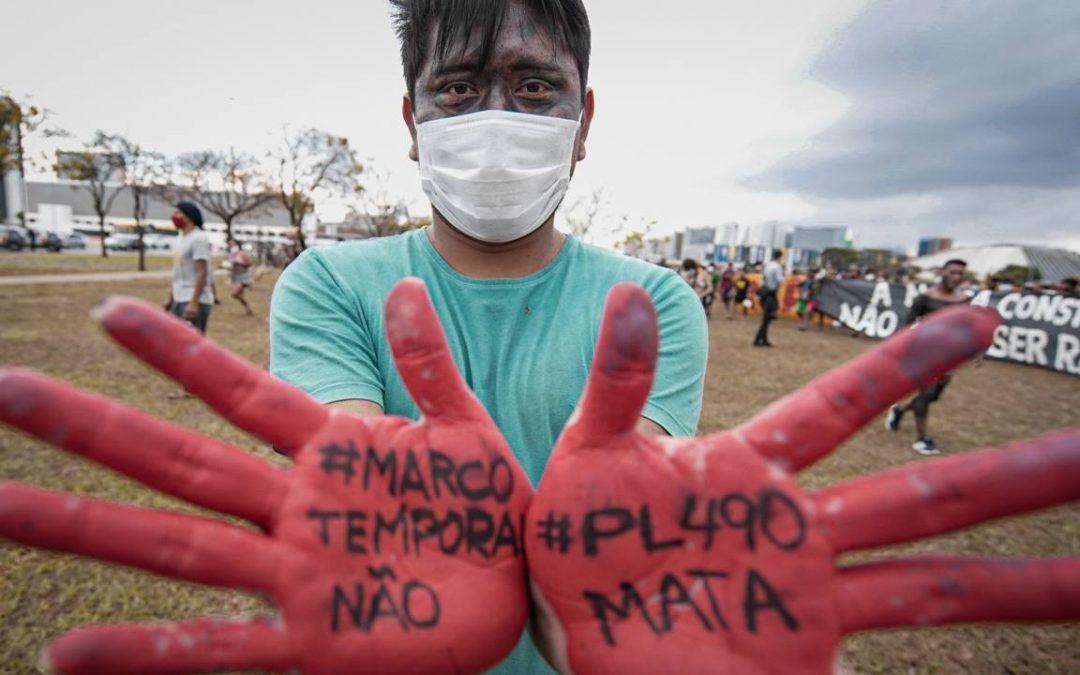 Apib reúne mais de 200 parceiros internacionais para falar da Emergência Indígena no Brasil