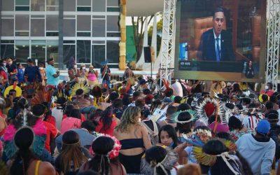 Mobilização continua: STF adia para amanhã (26) julgamento histórico sobre terras indígenas