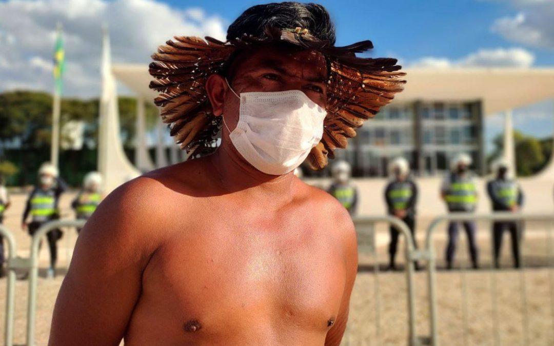 Justiça Federal determina inclusão de indígenas residentes em áreas urbanas em grupo prioritário de vacinação contra a covid-19 em Mato Grosso