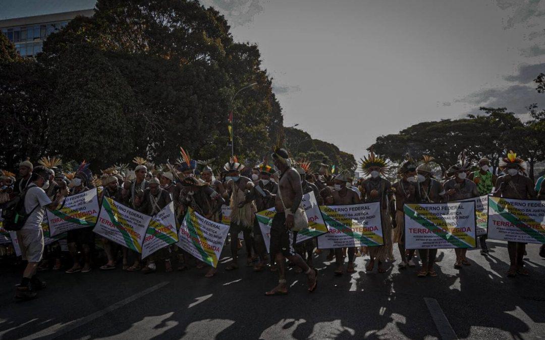Con manifestaciones de la ONU y la OEA contra la tesis del Marco Temporal, los pueblos indígenas reciben apoyo internacional