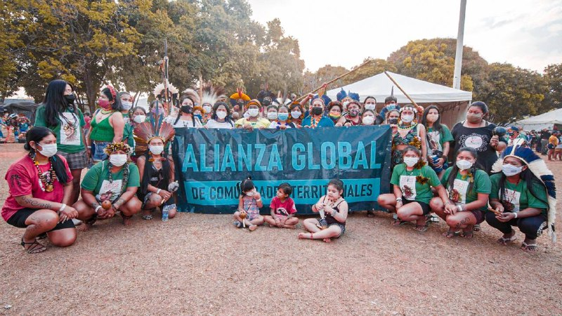 Mulheres indígenas do Equador vêm a Brasília para manifestar sua solidariedade às suas irmãs do Brasil