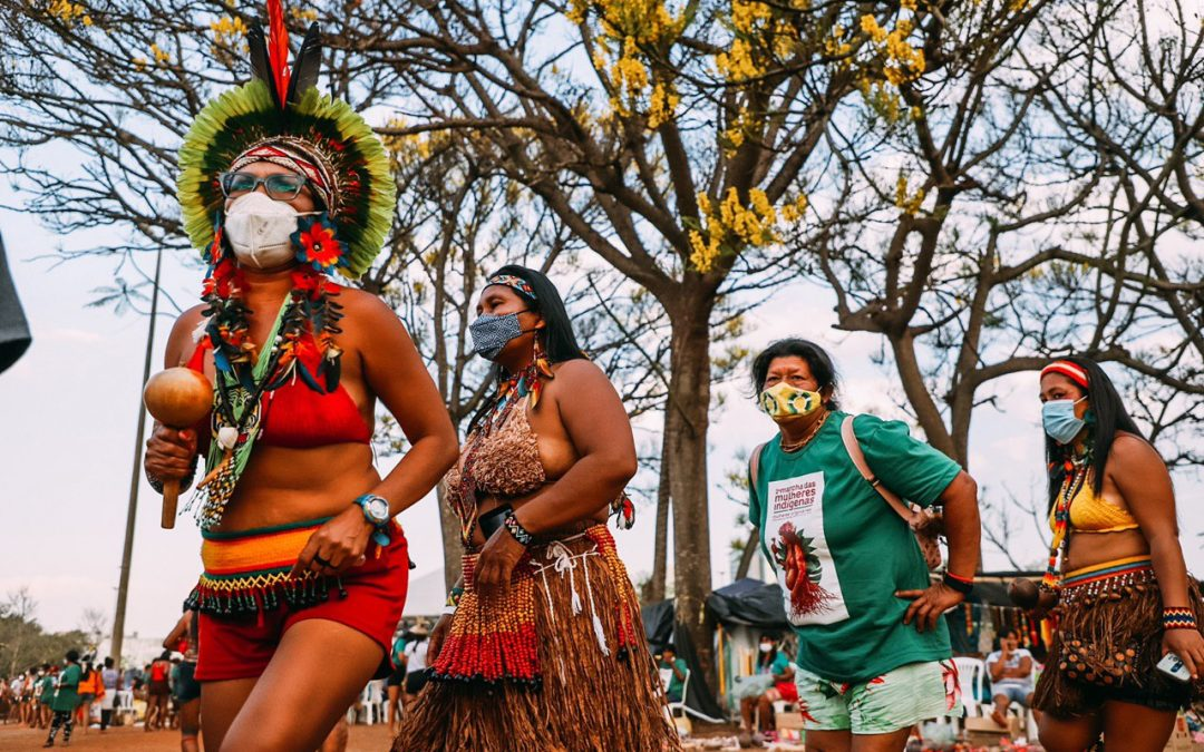 Em mobilização permanente, mulheres indígenas realizam marcha amanhã (10)