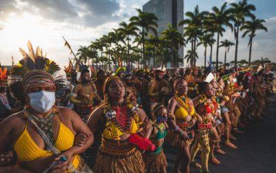 PRIMAVERA INDÍGENA: Mulheres indígenas ocupam Brasília para reflorestar mentes
