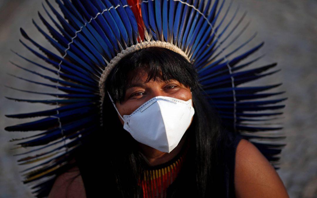 Indígenas não vão abrir mão de territórios se marco temporal passar, diz Sonia Guajajara