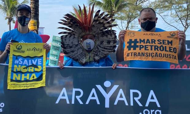 Ativistas comemoram falta de oferta para áreas próximas a Noronha e Atol das Rocas em leilão da ANP