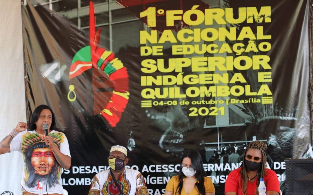 """""""Permanecer é Preciso"""": Estudantes indígenas e quilombolas realizam o I Fórum de Educação Superior, em Brasília"""
